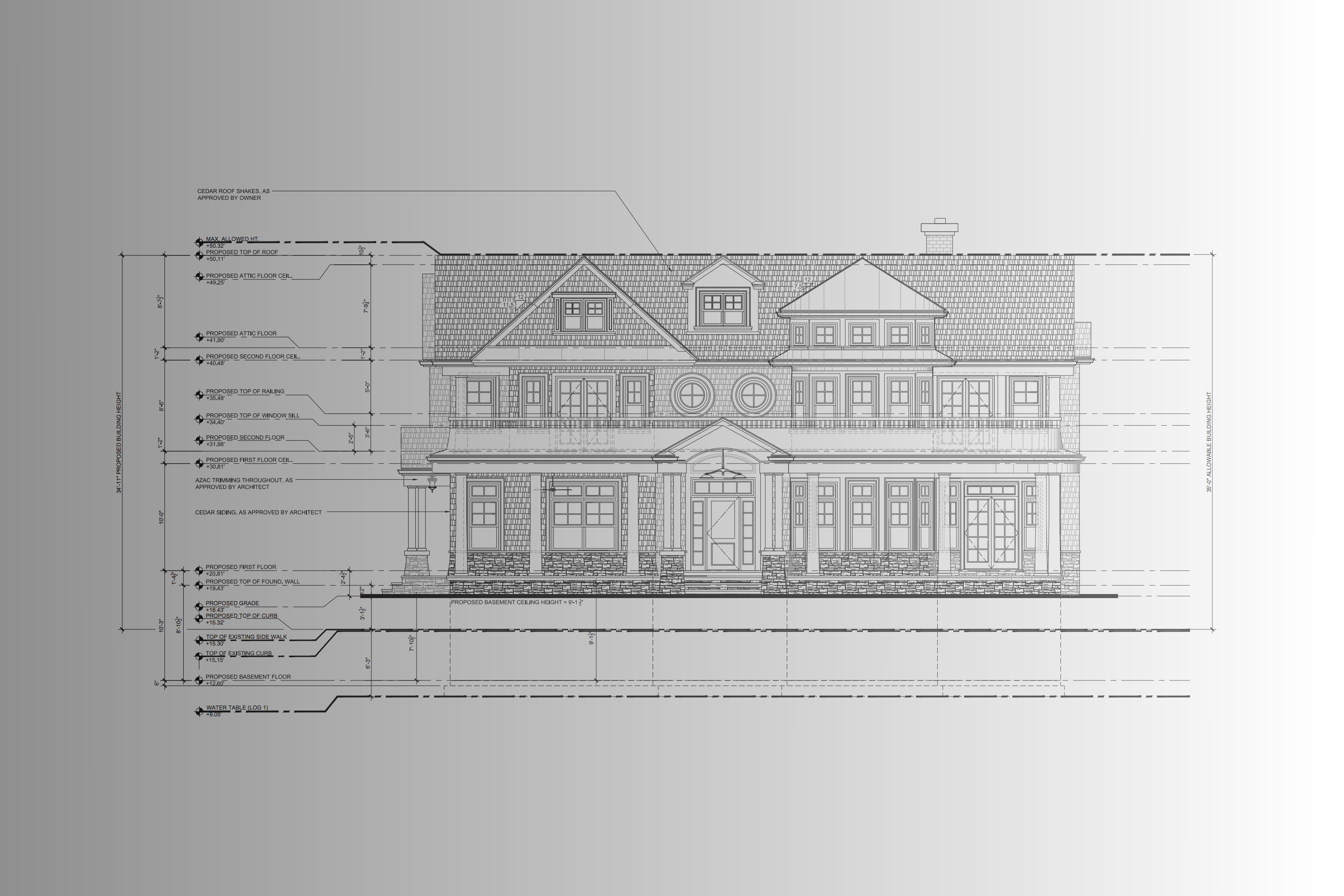 Front Image of the future home at 10 Lorraine Avenue Spring Lake, NJ 07762